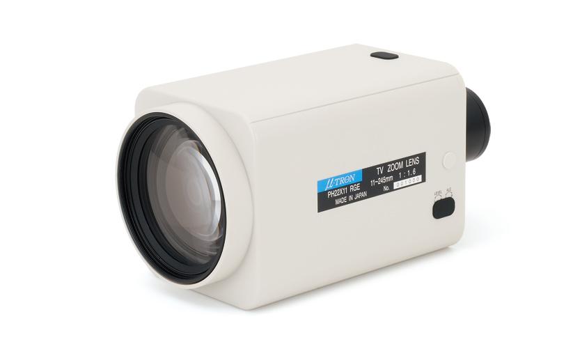 22x Motorized Zoom Lens for Mega Pixel | myutron